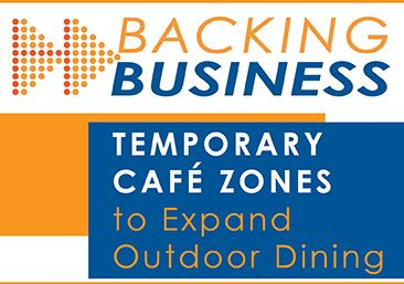 Temporary Cafe Zone Expansion Program